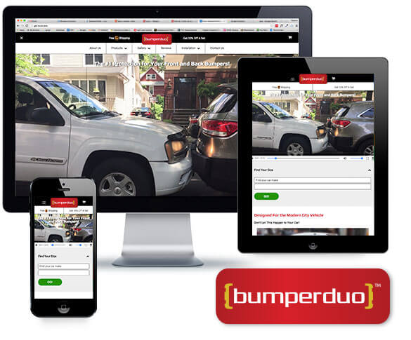 Bumperduo Responsive Website