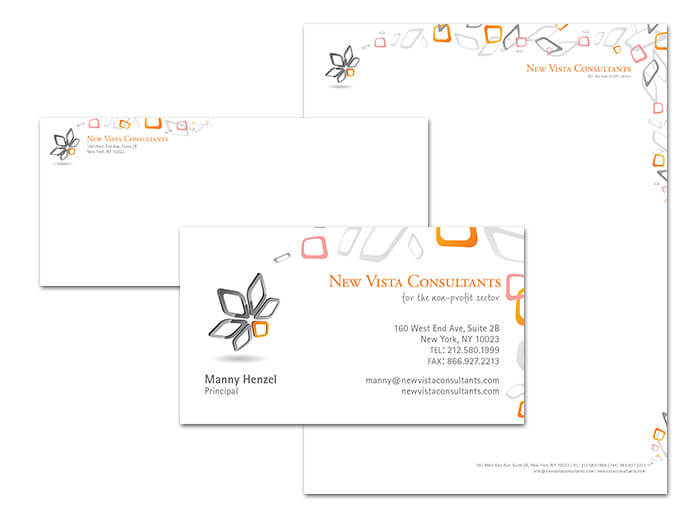 New Vista Consultants Stationary