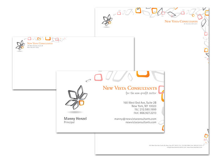New Vista Consultants Stationery